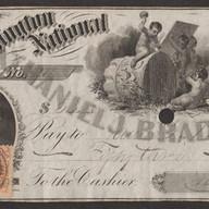 Bradlee bank note