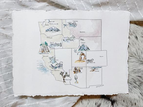 Western Lands Map