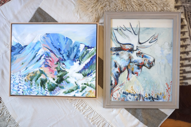 Moose Mood and Taos