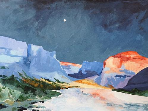 Utah Float Canvas Print
