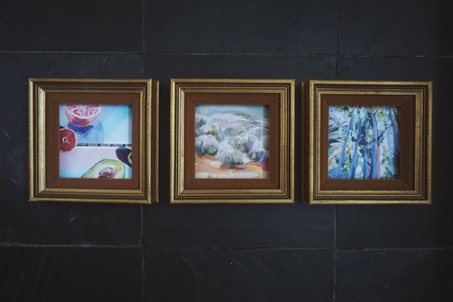 Framed Art Cards