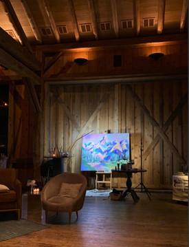 Teton Live Painting