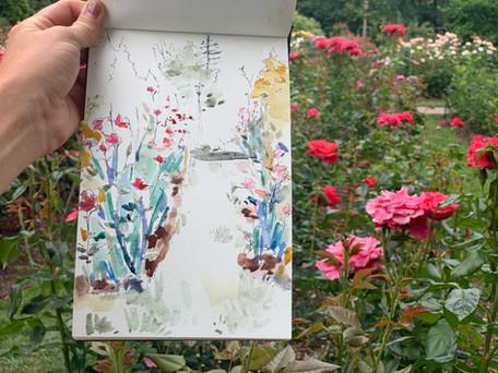 Oregon Rose Garden