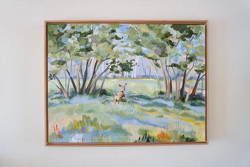 Doe-Eyed Original Painting