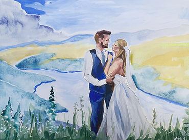 Elopement Painting