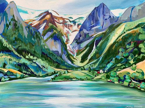 "Norway Fine Art Print 11""x14"""