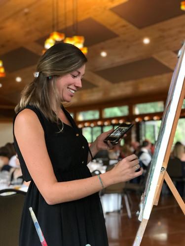 Wedding Painting in Buena Vista, Colorado