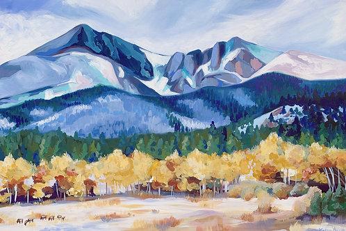"Colorado Landscape Fine Art Print  18""x24"""