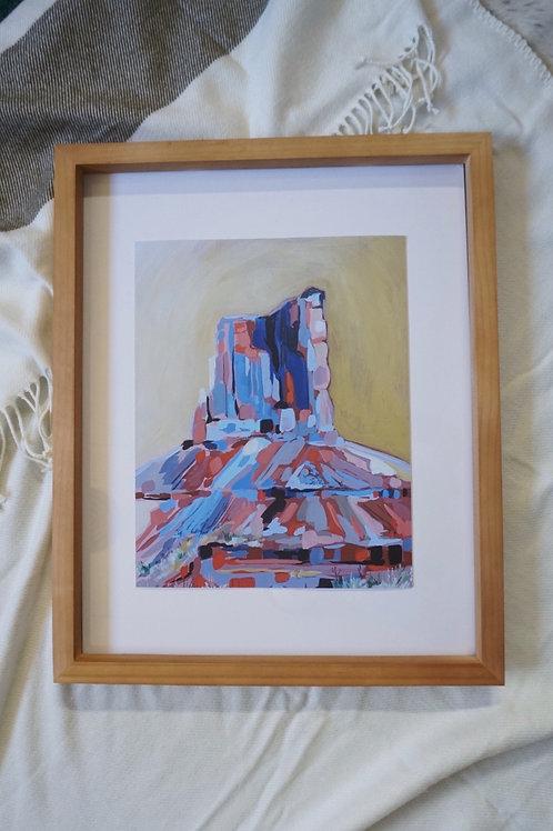 """Desert Mosaic Fine Art Print 11""""x14"""""""