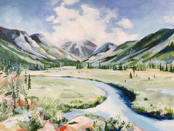 Rocky Mountain Elopement Landscape