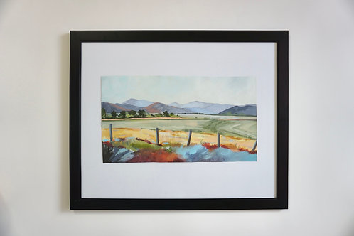 Idaho Farm Original Painting