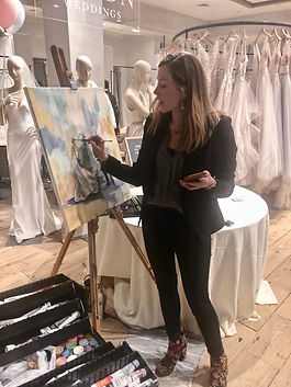 Live Painting Wedding Event
