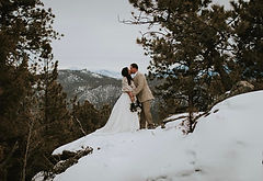 Elopement Photo by Ally Rose Beck