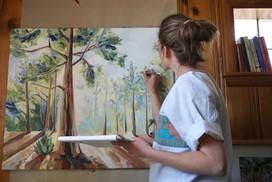 Painting Ponderosa