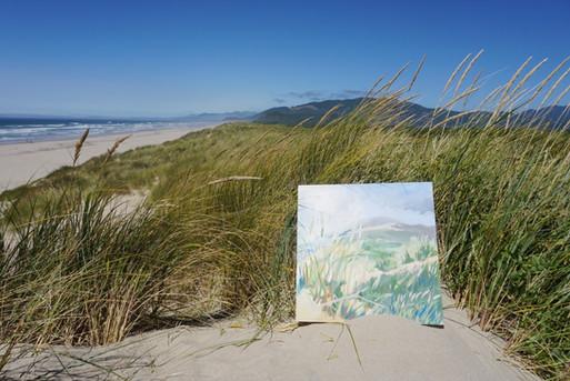 Dunes in Tillamook, Oregon