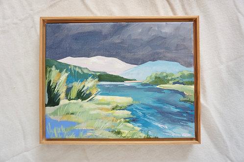 Fall Creek Original Painting