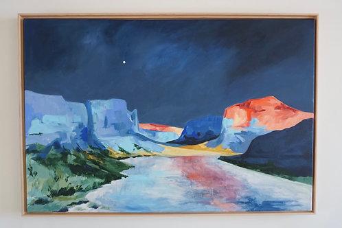 Utah Float Original Painting