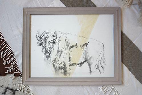 Bison Original Artwork