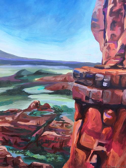 "Utah Landscape 11""x14"""