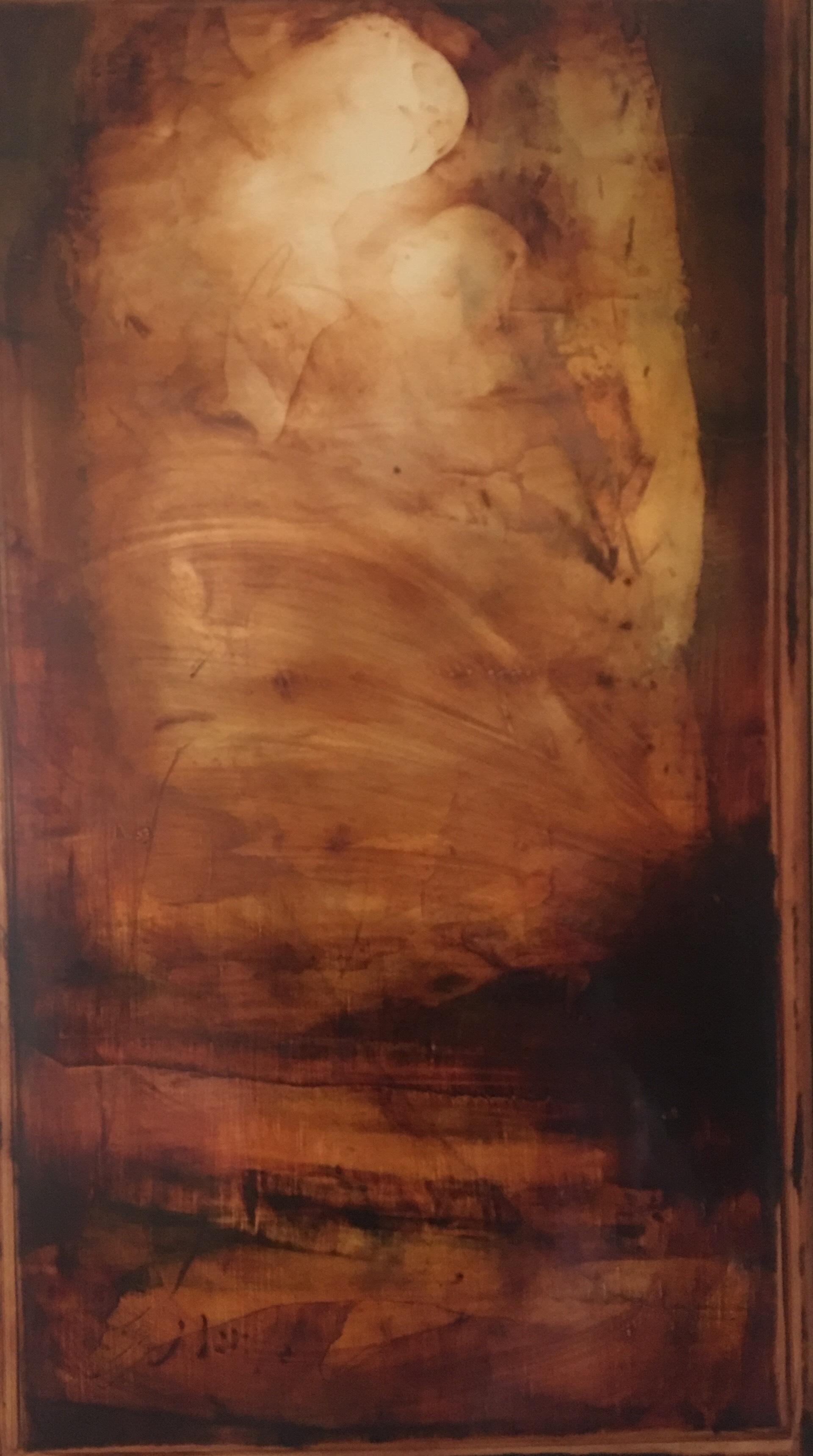 Carlos Araujo - Maternidade em Siena  Escuro