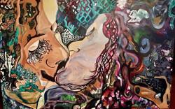 ANA GOULART - 380 - THE KISS - 50 X 70 -