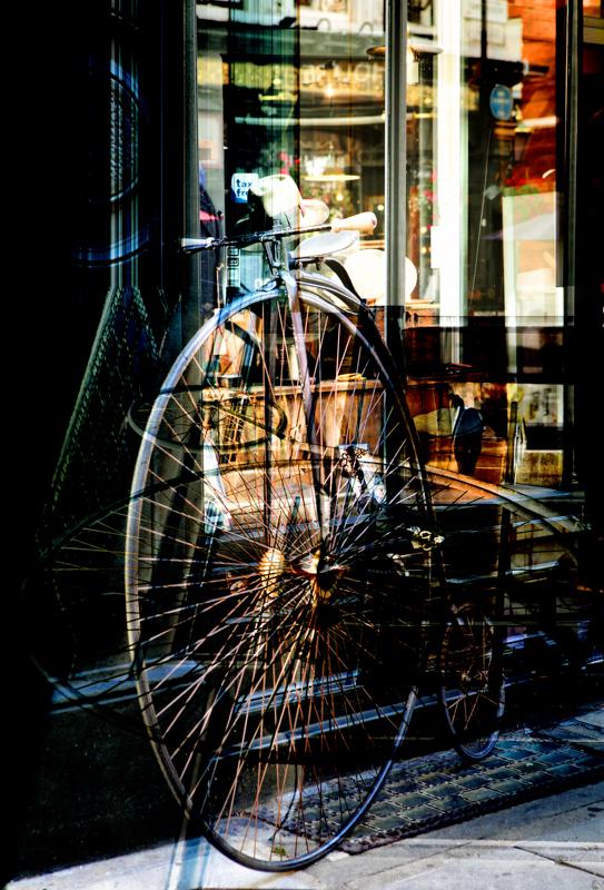 fernando priamo - green bike - 100 x 80