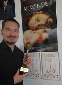 Producer Oliver Theurich accept the Best