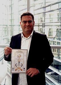 Frederic Eger 2018 Best Web Serie Winner