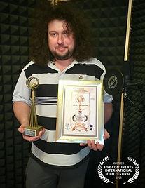 Venezuela FICOCC Winner Trophy-Zdenek Be