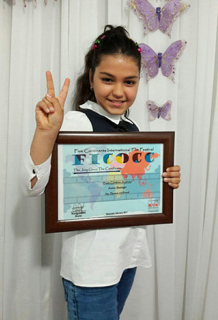 Photos of the February`s winners at the FICOCC