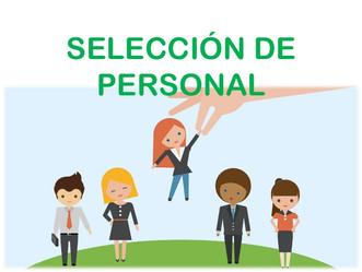 NUEVO SERVICIO – SELECCIÓN DE PERSONAL: