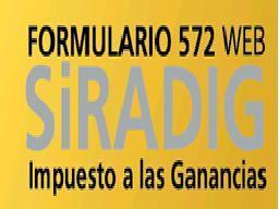 SIRADIG WEB (Formulario 572)