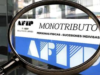 MONOTRIBUTO: Cambios y recategorizaciones de oficio.