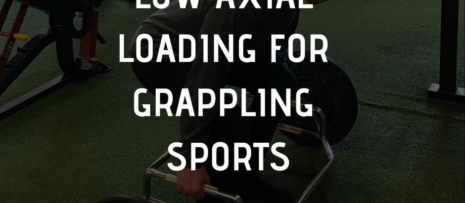 Low Axial Loading For Grappling Sports