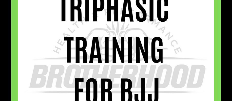 TRIPHASIC METHOD FOR GRAPPLERS