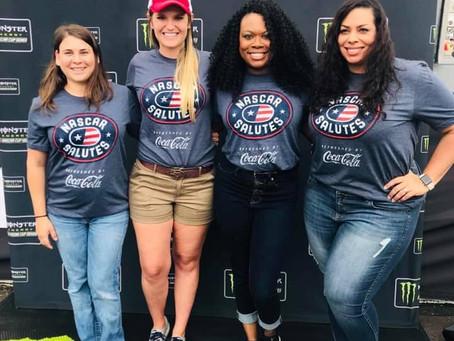 NASCAR Salutes Military Spouses