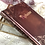 Thumbnail: Personalized vintage notebook
