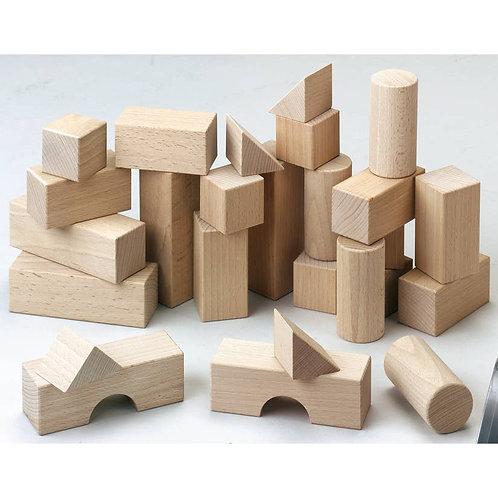 Classic Wooden Blocks