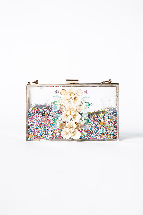 PEDDA MARRI TRANSPARENT BOX BAG (The Mid Summer Night Dream Collection)