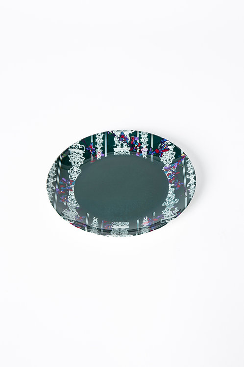 PEDDA MARRI PLATE - GREEN out (The Enchanted Garden Collection)