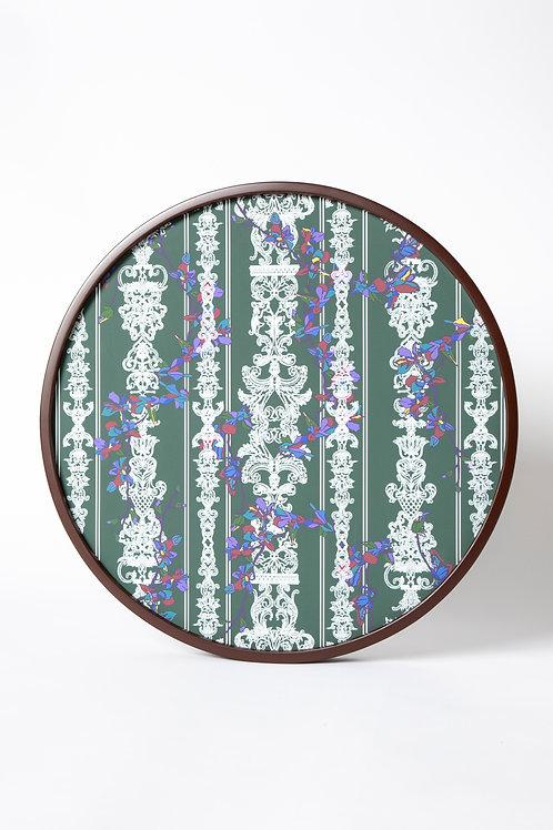 PEDDA MARRI PRINT ON CANVAS circle   (The Enchanted Garden Collection)