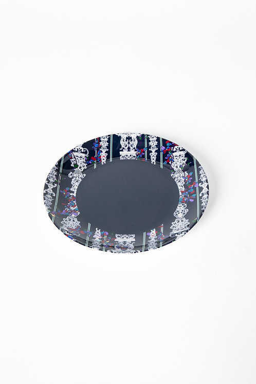 PEDDA MARRI PLATE - BLUE out (The Enchanted Garden Collection)