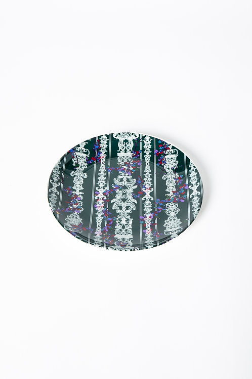 PEDDA MARRI PLATE - GREEN full (The Enchanted Garden Collection)