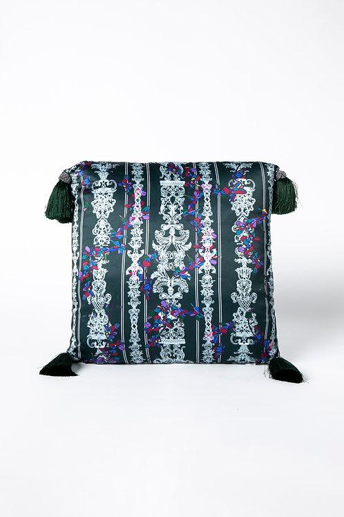 PEDDA MARRI CUSHION - Green (The Enchanted Garden Collection)