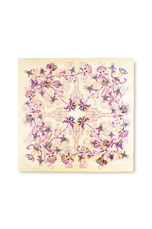 PEDDA MARRI SILK SCARF (91x91cm) (The Mid Summer Night Dream Collection)