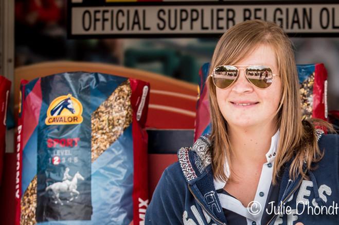 Sponsor stockfoto Cavalor