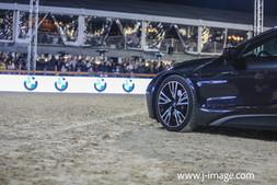 sponsor stockfoto BMW @ jumping Antwerp