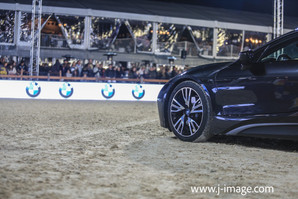 sponsor stockfoto BMW @ jumping Antwerp