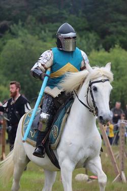 L'entrainement du chevalier.
