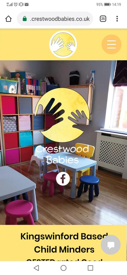 Crestwood Babies Mobile Website